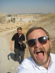 Erik och Mats Persepolis