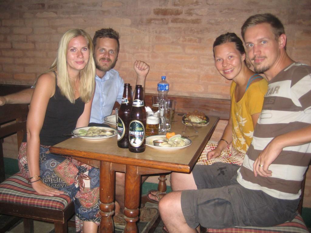 Middag i Lalitpur, Nepal
