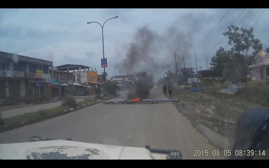 Protester i Imphal